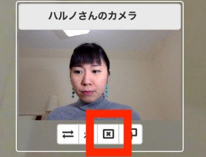 カメラをオフにする方法 ビデオウェブ会議 Vsession