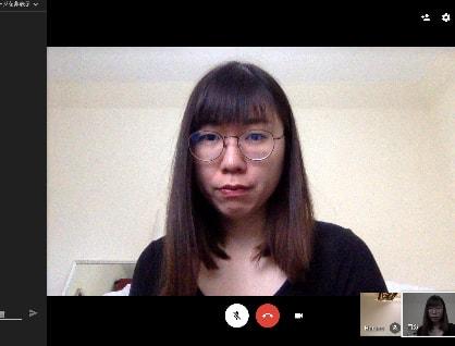 ビデオウェブ会議 GoogleHangouts