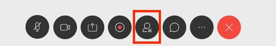 チャットをする方法 ビデオウェブ会議 ciscowebex