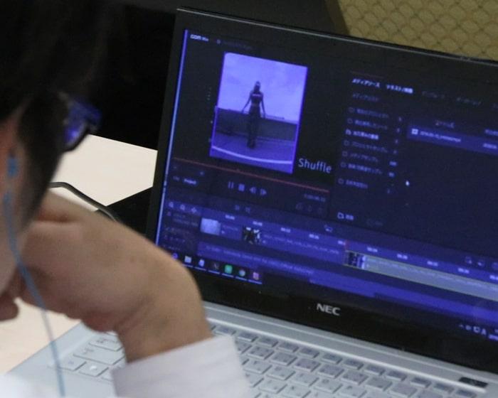 カンタン動画入門教室講義風景