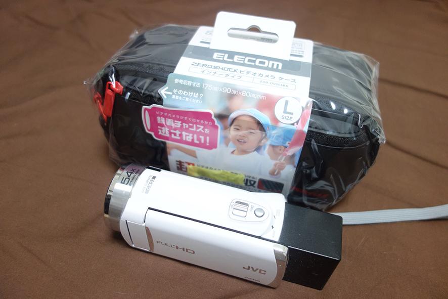 ビデオカメラケースelecom ZEROSHOCK