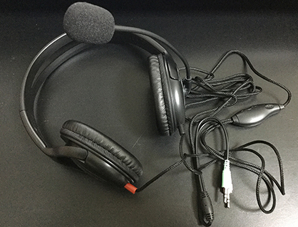 【レビュー】おすすめのヘッドセットマイク 1,000円以下 ELECOM HS-HP24BK