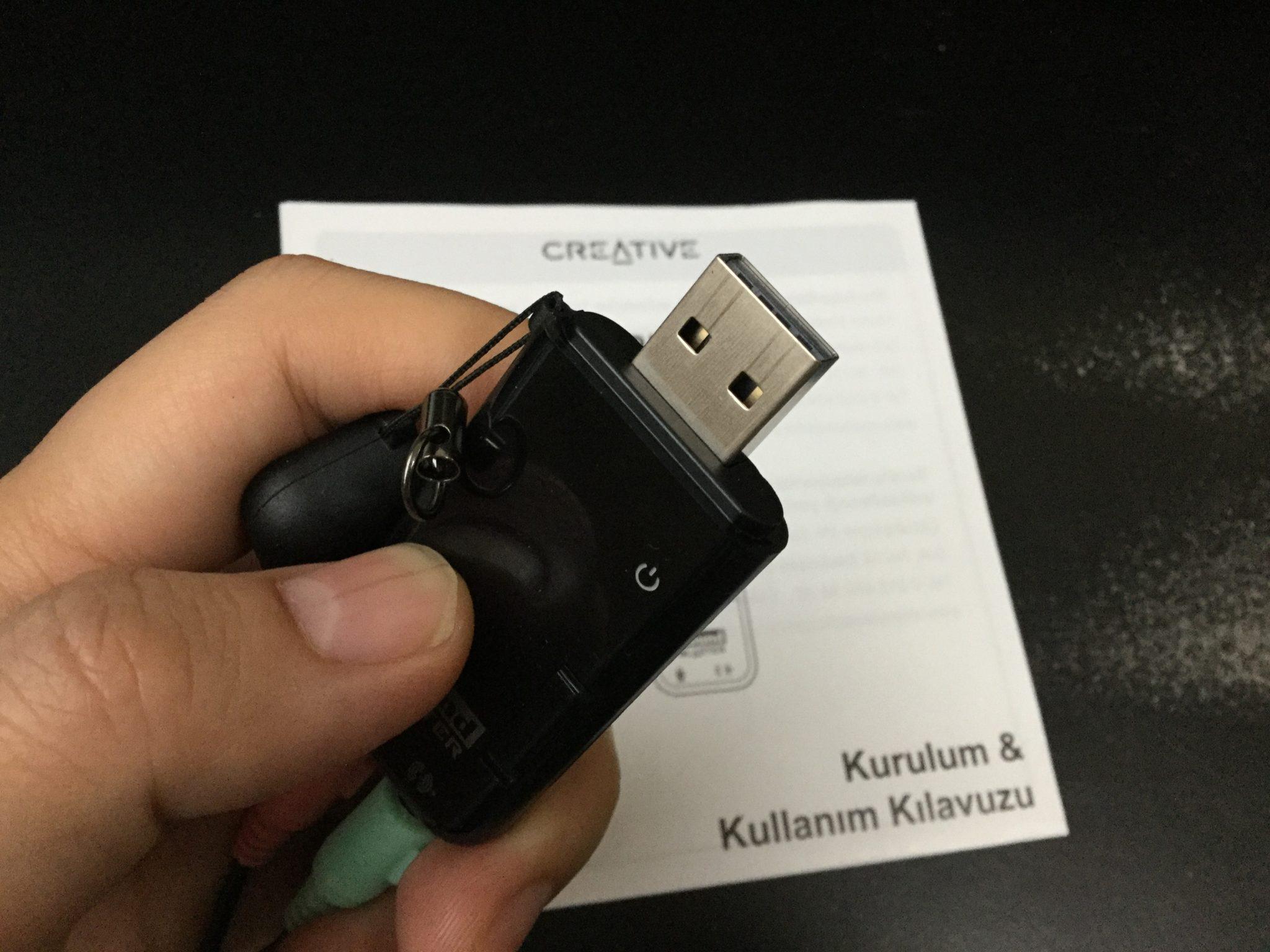 Sound Blaster X-Fi Go! Pro r2 Creative SB-XFI-GPR2 USB端子