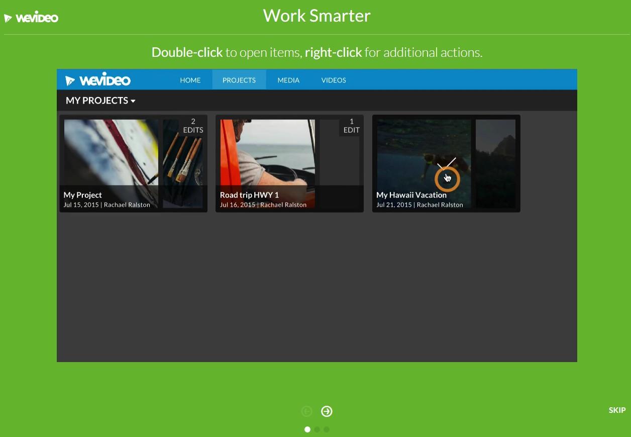ブラウザで動画編集できる無料サービスWE VIDEO会員登録