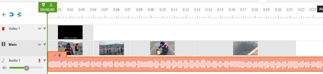 ブラウザで動画編集できる無料サービスWE VIDEO、BGM音楽の挿入