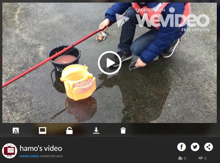 ブラウザで動画編集できる無料サービスWE VIDEO、動画の書き出し