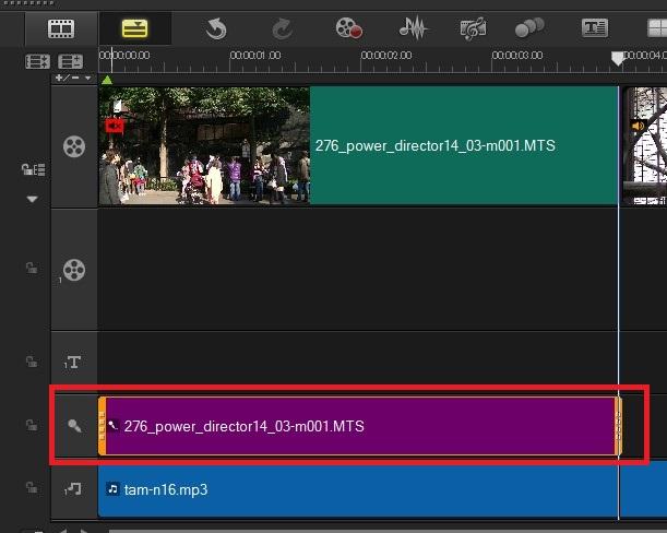 VideoStudio x9の使い方 音声の分割方法