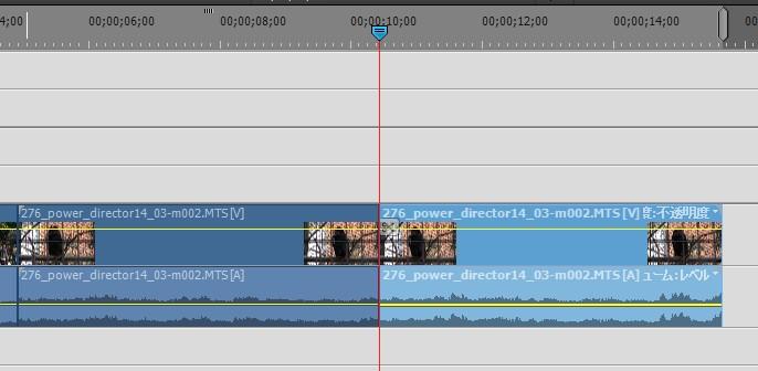 Adobe Premiere Elements14の使い方 基本的な操作方法 動画をカット分割する方法