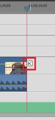 Adobe Premiere Elements14の使い方 BGM音楽ファイルの分割・カット