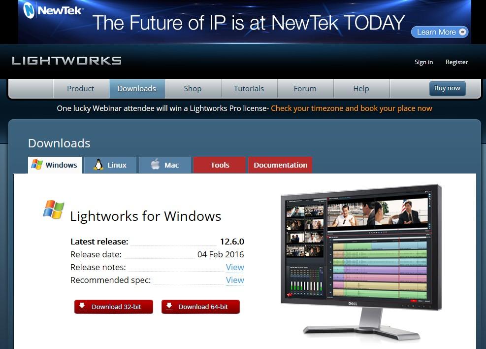 Lightworksの使い方 公式サイト