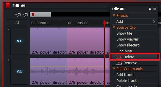 動画の分割カットの方法  Lightworksの使い方