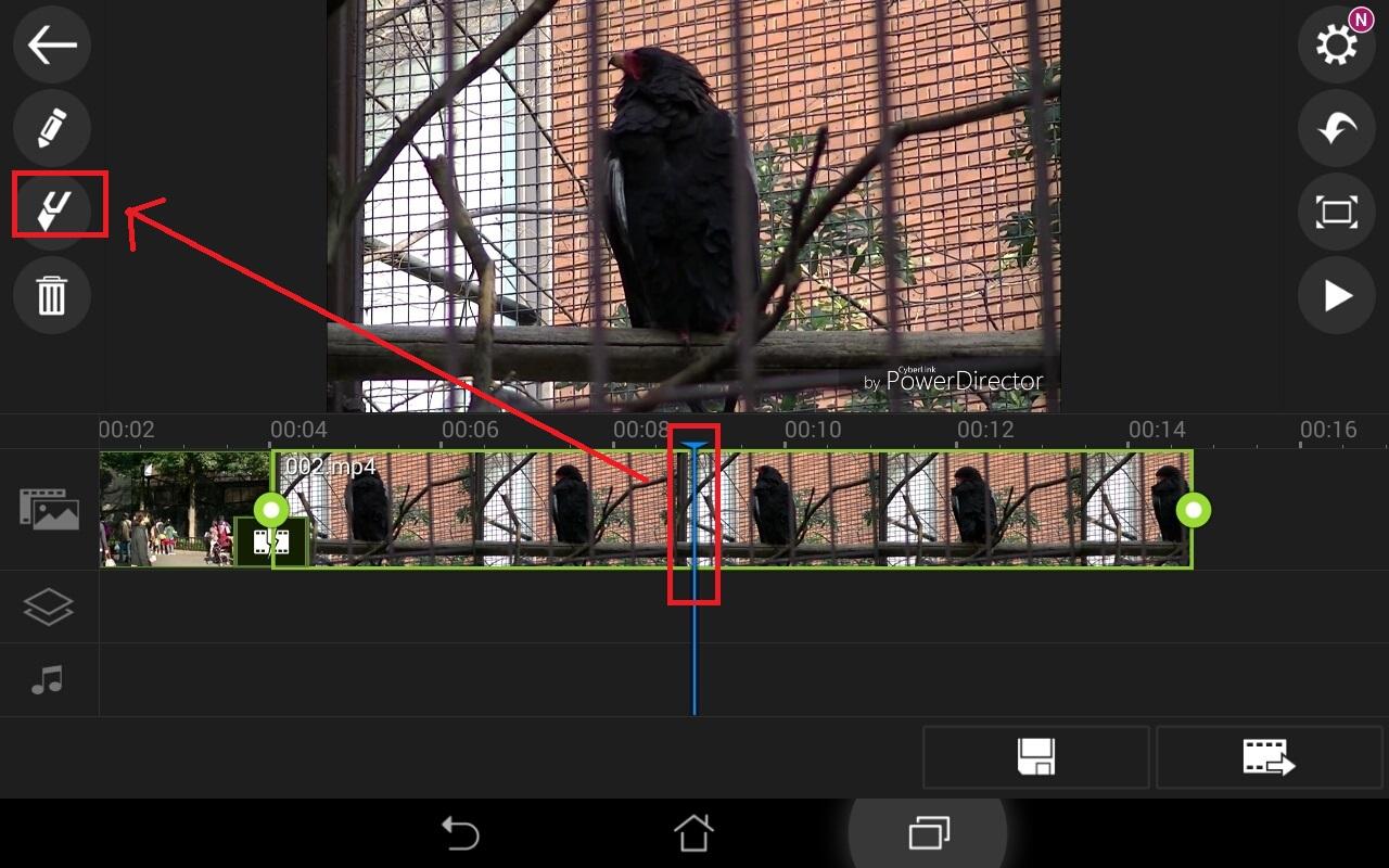 動画ファイルを分割カットする方法 無料動画編集アプリPowerDirector