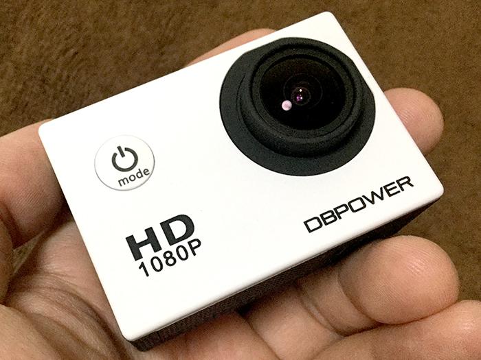格安ウェアラブル・アクションカメラDB POWER SJ4000