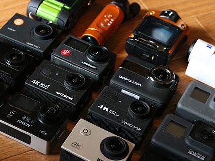 【2019】アクションカメラおすすめ比較ランキング23機種選び方3つのポイント