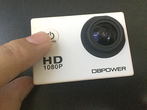 DB POWER SJ4000の起動の仕方