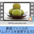 動画ファイルのサムネイル画像を変更する方法 フリーソフトMedia Preview Configuration