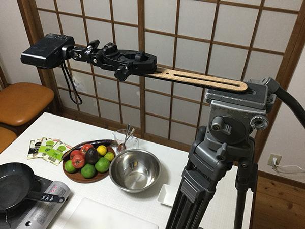 料理動画撮影セット