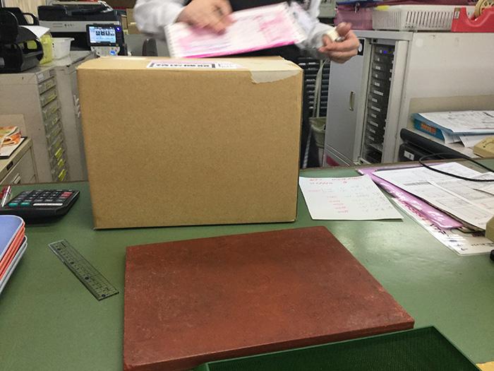 レンタルビデオカメラを郵便局で返却