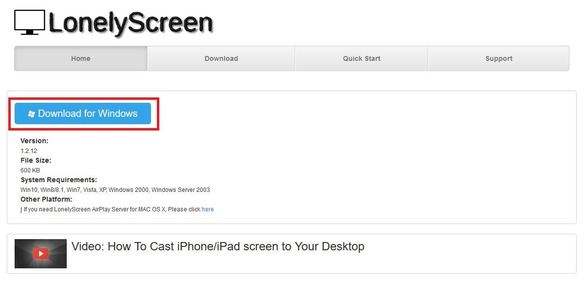 Lonely Screenをダウンロード・インストールする方法