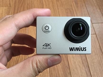 格安4Kウェアラブル・アクションカメラWiMiUSの使い方・設定方法