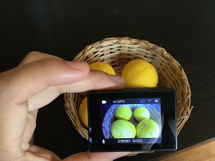WiMiUS 4Kモード録画画面