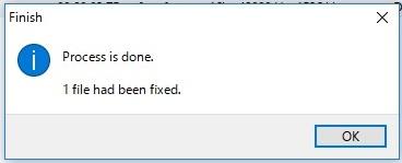 BS FAGファイルの適正化