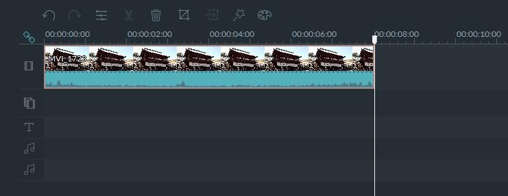 Filmora動画ファイルを短くする方法