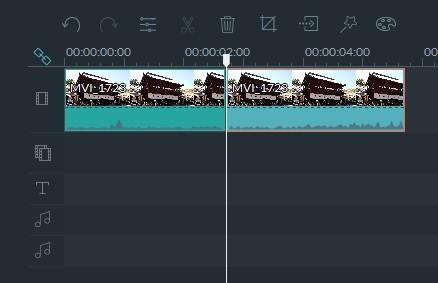 Filmora動画ファイルを分割する方法