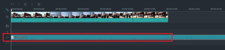FilmoraBGM音楽を挿入する方法