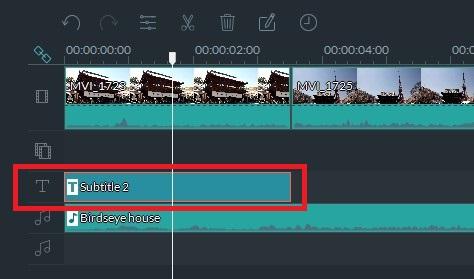 Filmoraテキストテロップ挿入方法