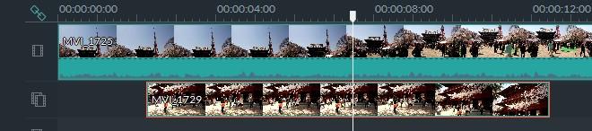 Filmoraピクチャインピクチャさせる方法