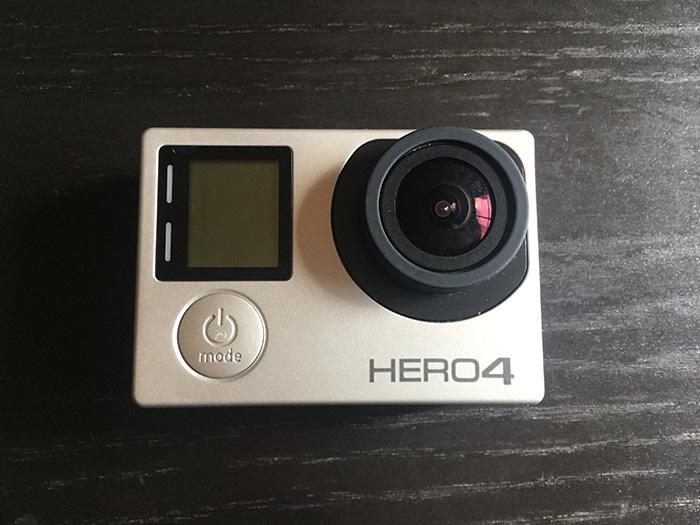 GoPro HERO4アクションカメラ