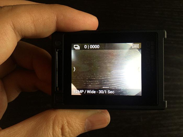 GoPro HERO4連射撮影モードアクションカメラ