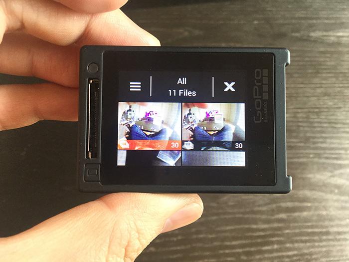 GoPro HERO4 再生モード アクションカメラ