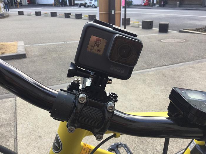 GoPro HERO5 アクション・ウェアラブルカメラを自転車に着けてみた