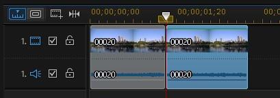 動画ファイルの分割方法 PowerDirector15
