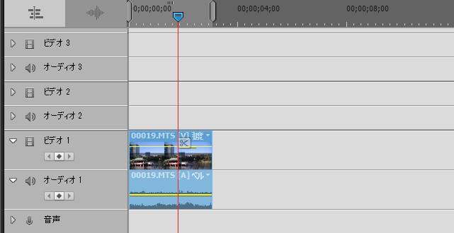 カット編集の基礎 Adobe Premiere Elements15