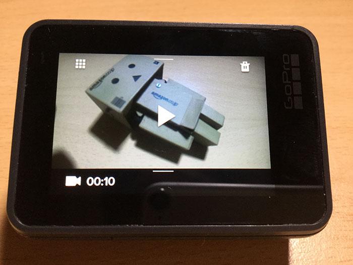 動画を再生する方法  GoPro HERO6