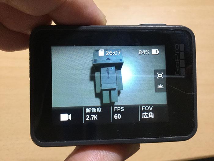 動画モードGoPro HERO6