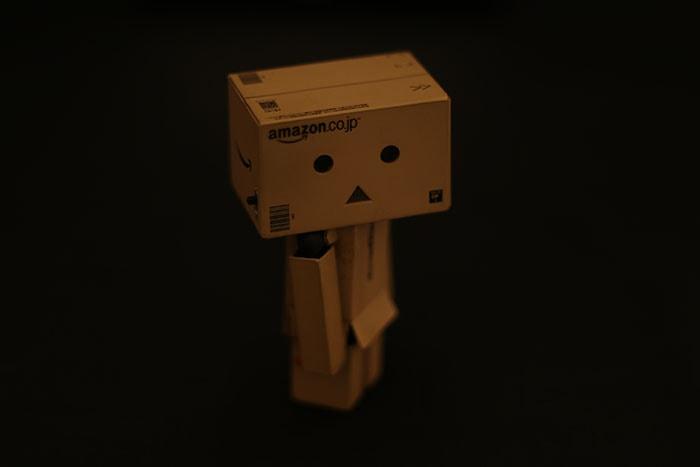 LEDライト付撮影ボックスで照明なしのダンボー 初心者向けの簡易照明を使った物撮り入門