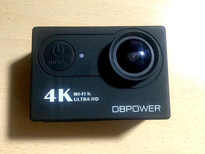 DBPOWER 4K 電源・モードボタン