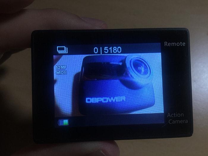 DBPOWER 4K 連写モード