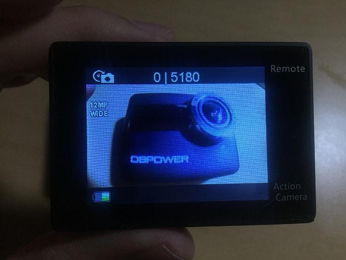 DBPOWER 4K タイマー撮影モード