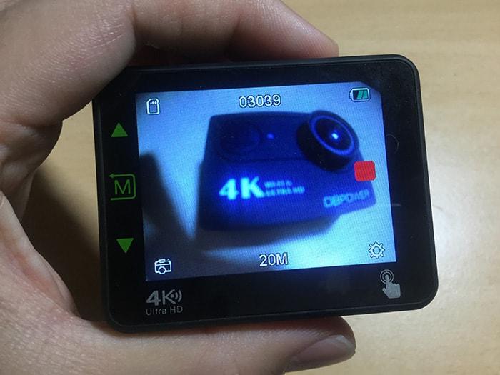 DBPOWER 4K N6 写真モード