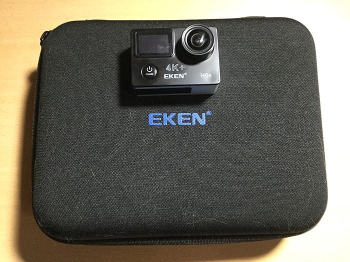 アクションカメラEKEN H6s アクセサリーケース
