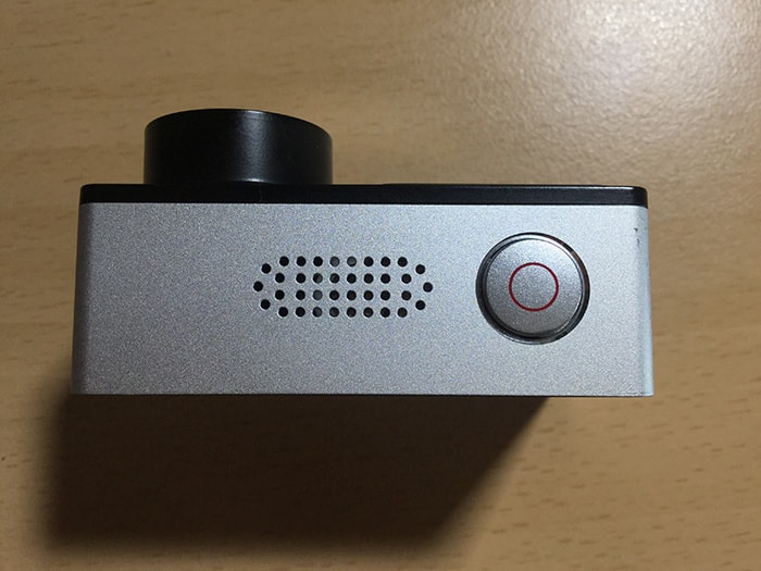 アクションカメラEKEN H6s 決定・録画ボタン