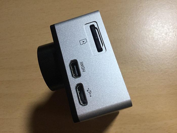 アクションカメラEKEN H6s マイクロSDカード 充電 HDMI端子