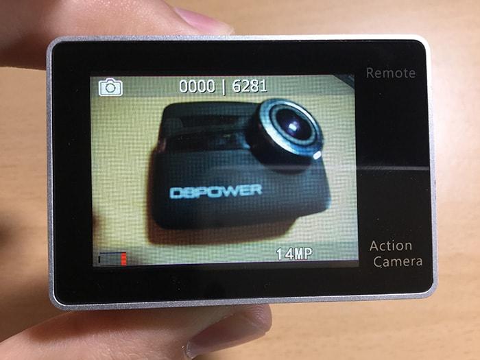 アクションカメラEKEN H6s 写真モード