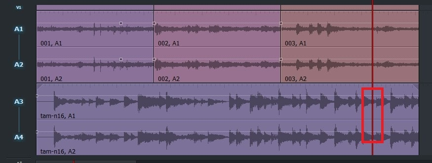 動画編集ソフトLightworks14 BGM音楽ファイルにフェードイン・アウトを付ける方法