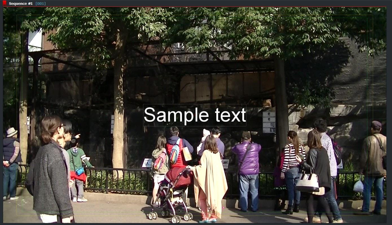 動画編集ソフトLightworks14 テキストテロップタイトルを追加する方法